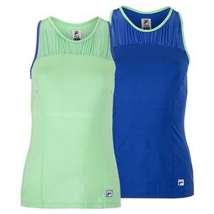 Women`s Colorful Play Racerback Tennis Tank