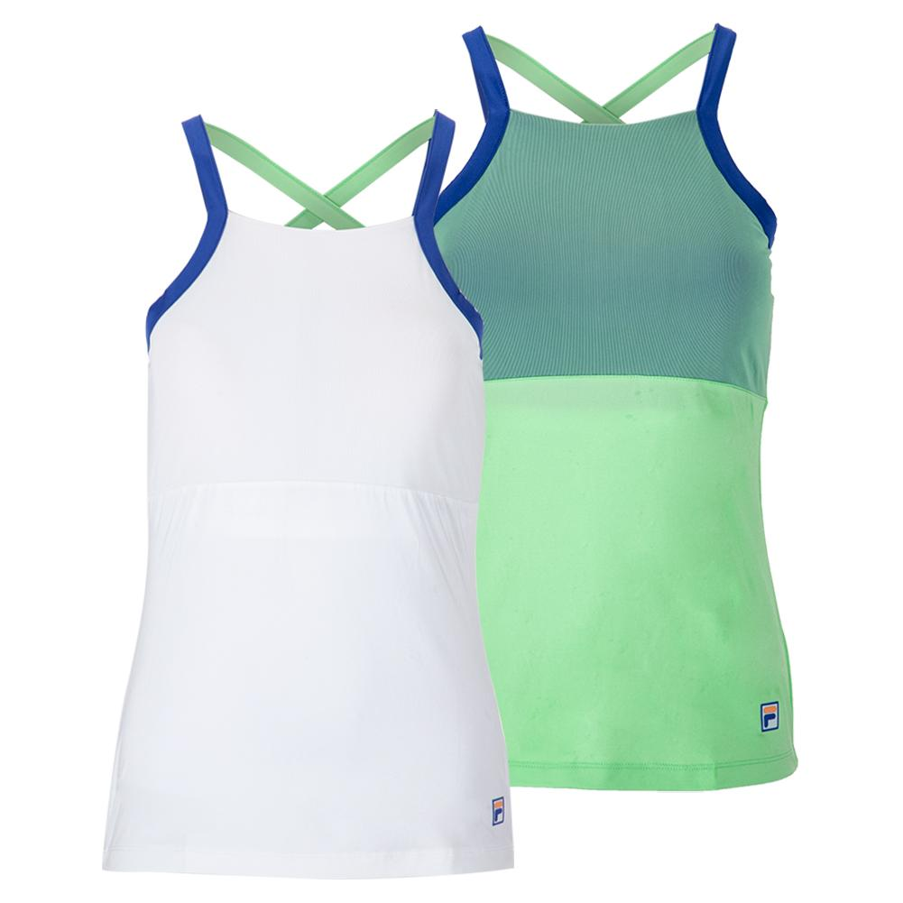 Women's Colorful Play Cami Tennis Tank