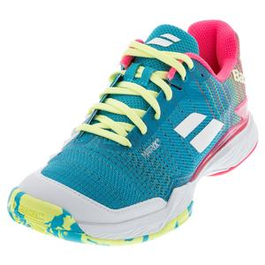 Women`s Jet Mach II Clay Tennis Shoes Capri Breeze and Pink