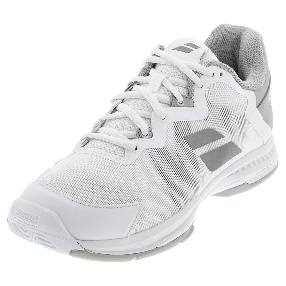 Women's Sfx 3 All Court Tennis Shoes White And Silver