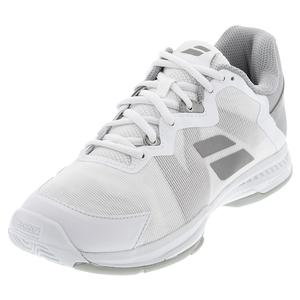 Women`s SFX 3 All Court Tennis Shoes White and Silver