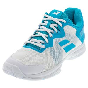 Women`s SFX 3 All Court Tennis Shoes Scuba Blue