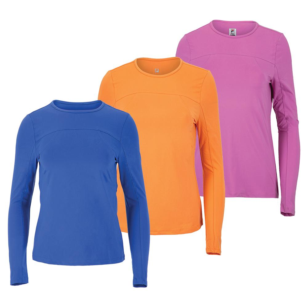 Women's Essentials Uv Blocker Long Sleeve Tennis Top
