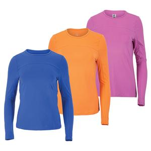 Women`s Essentials UV Blocker Long Sleeve Tennis Top