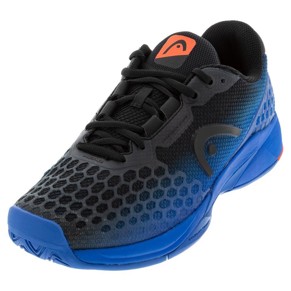 Men's Revolt Pro 3.0 Tennis Shoes Anthracite And Royal Blue
