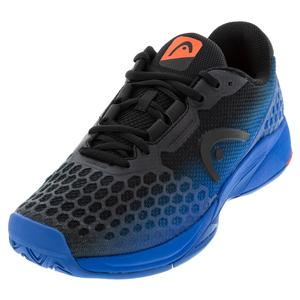 Men`s Revolt Pro 3.0 Tennis Shoes Anthracite and Royal Blue