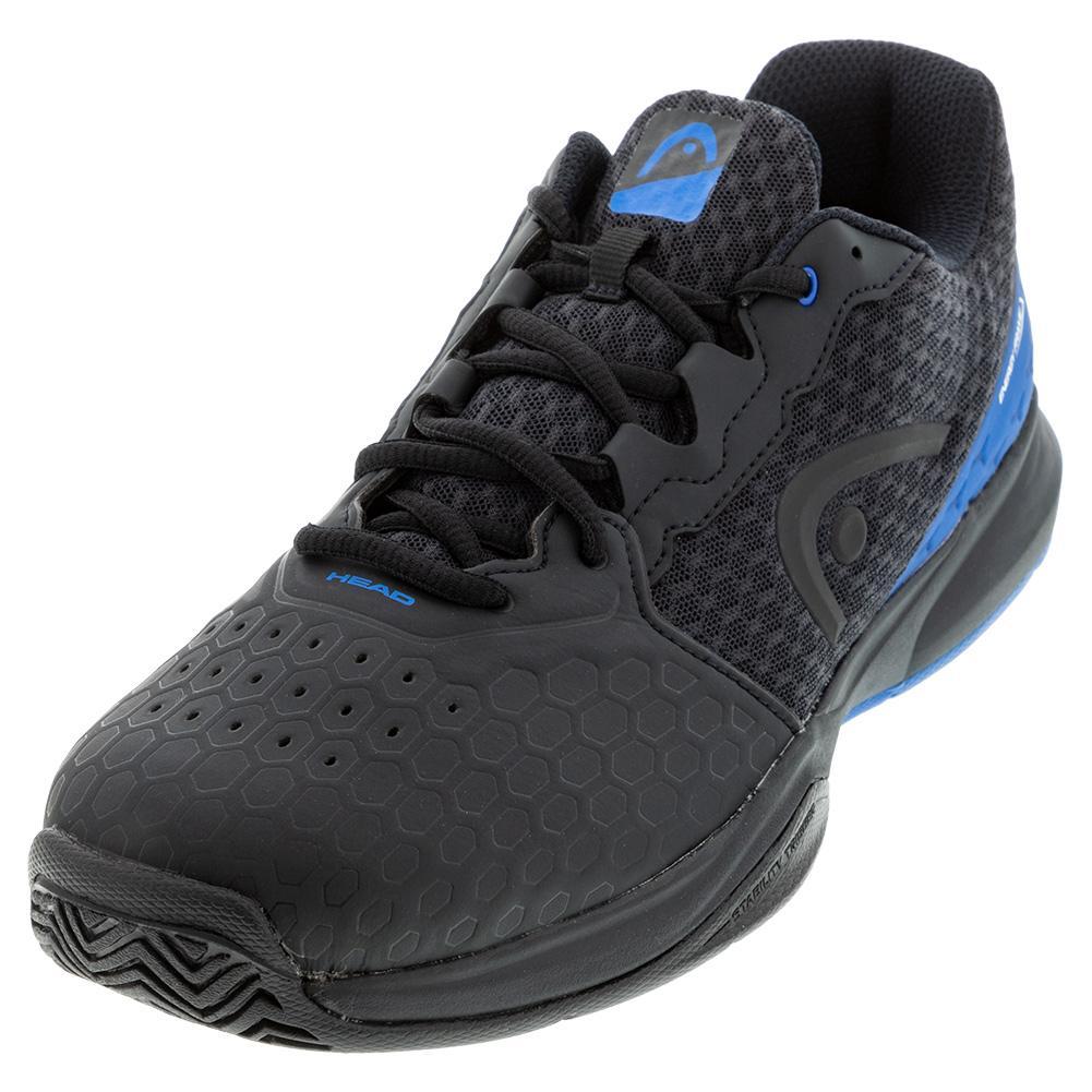 Men's Revolt Team 3.5 Tennis Shoes Anthracite And Royal Blue
