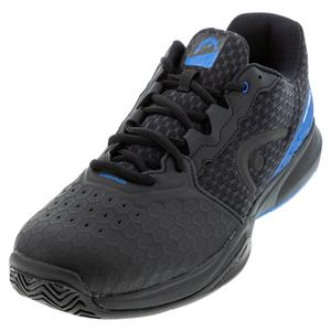 Men`s Revolt Team 3.5 Tennis Shoes Anthracite and Royal Blue
