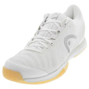 Women`s Sprint Pro 3.0 Tennis Shoes White and Iridescent