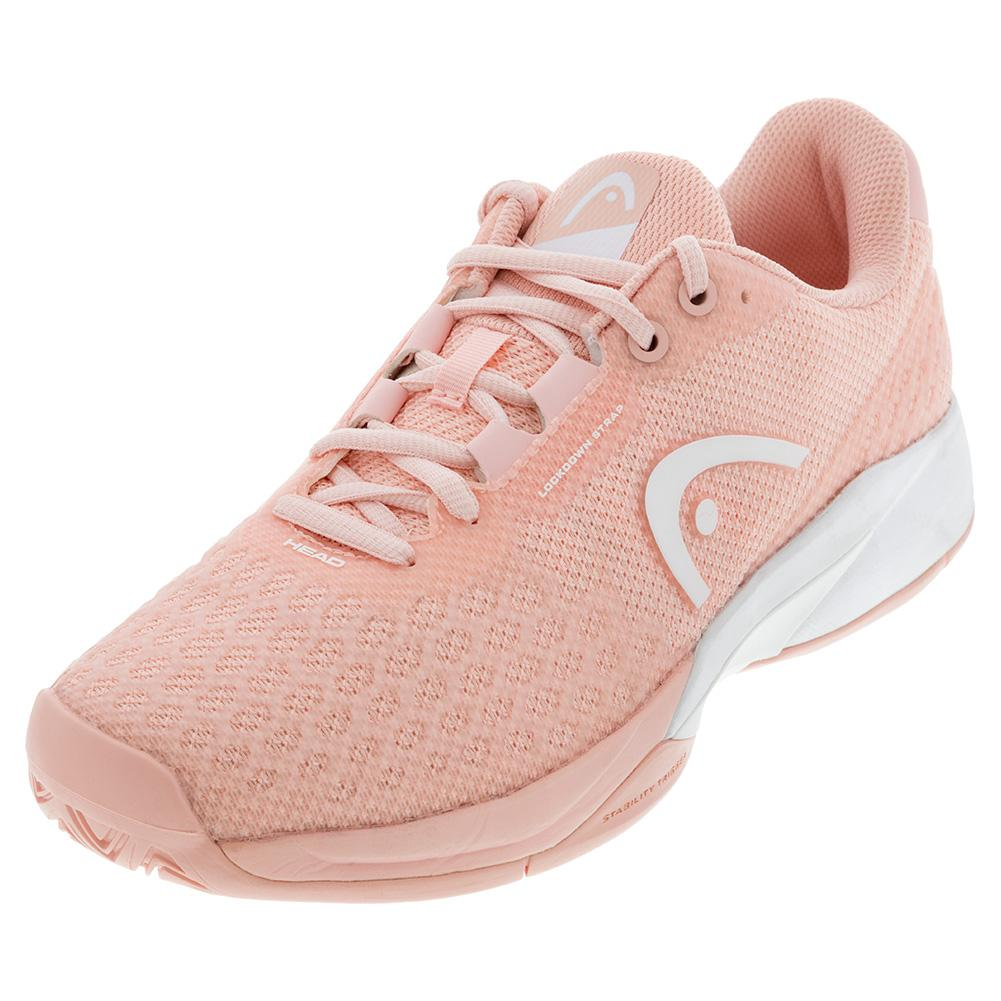 Women's Revolt Pro 3.0 Tennis Shoes Rose And White