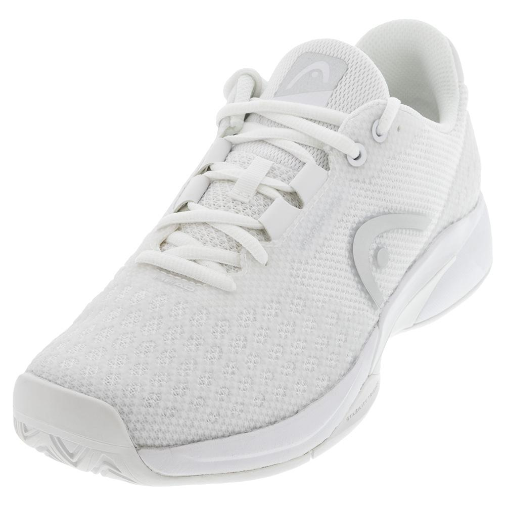 Women's Revolt Pro 3.0 Tennis Shoes White And Silver