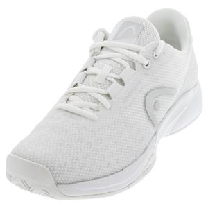 Women`s Revolt Pro 3.0 Tennis Shoes White and Silver
