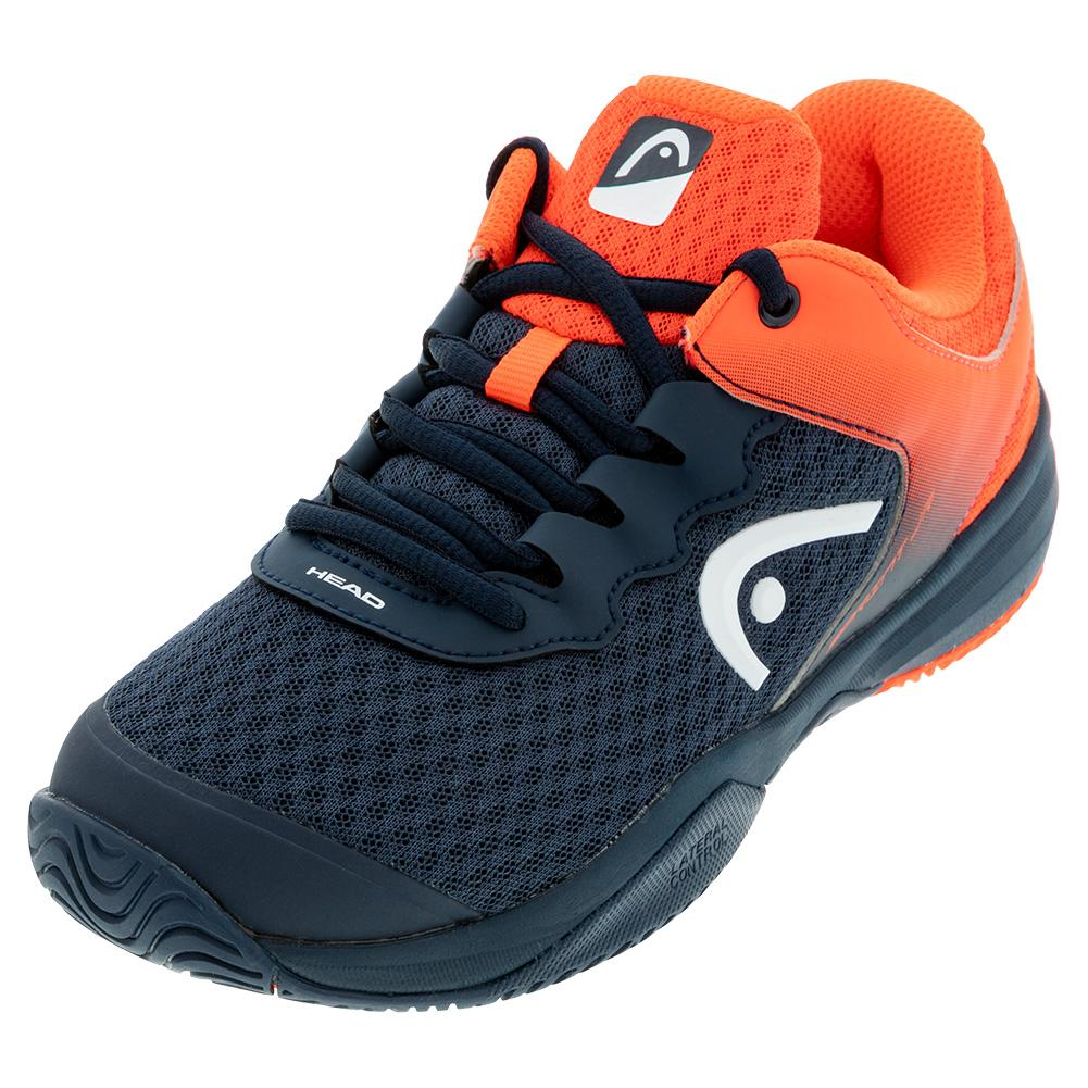 Juniors'sprint 3.0 Tennis Shoes Midnight Navy And Neon Red