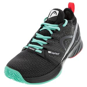 Women`s Sprint SF Tennis Shoes Black and Teal