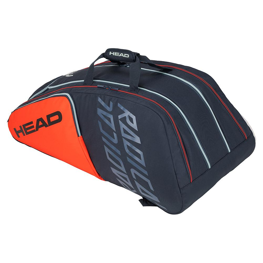 Radical 12r Monstercombi Tennis Bag Orange And Gray