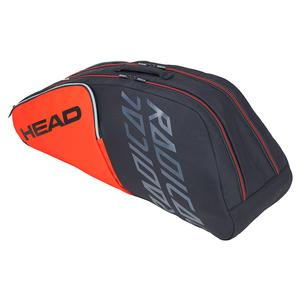 Radical 6R Combi Tennis Bag Orange and Gray