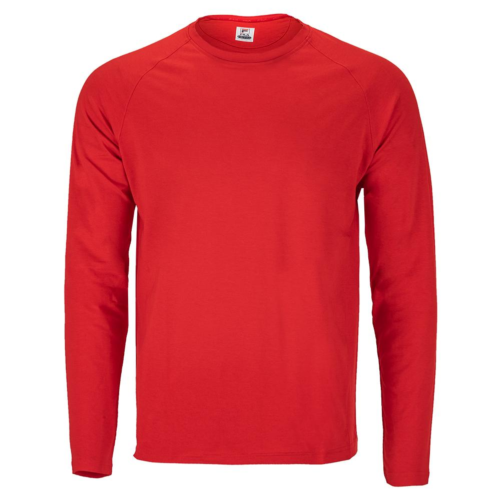 Men's Essentials Uv Blocker Long Sleeve Tennis Top