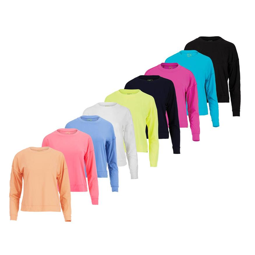 Women's Hype Long Sleeve Tennis Top