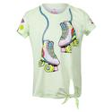 Girls` Print Tie Knot Tennis Top 40955_LETS_ROLL
