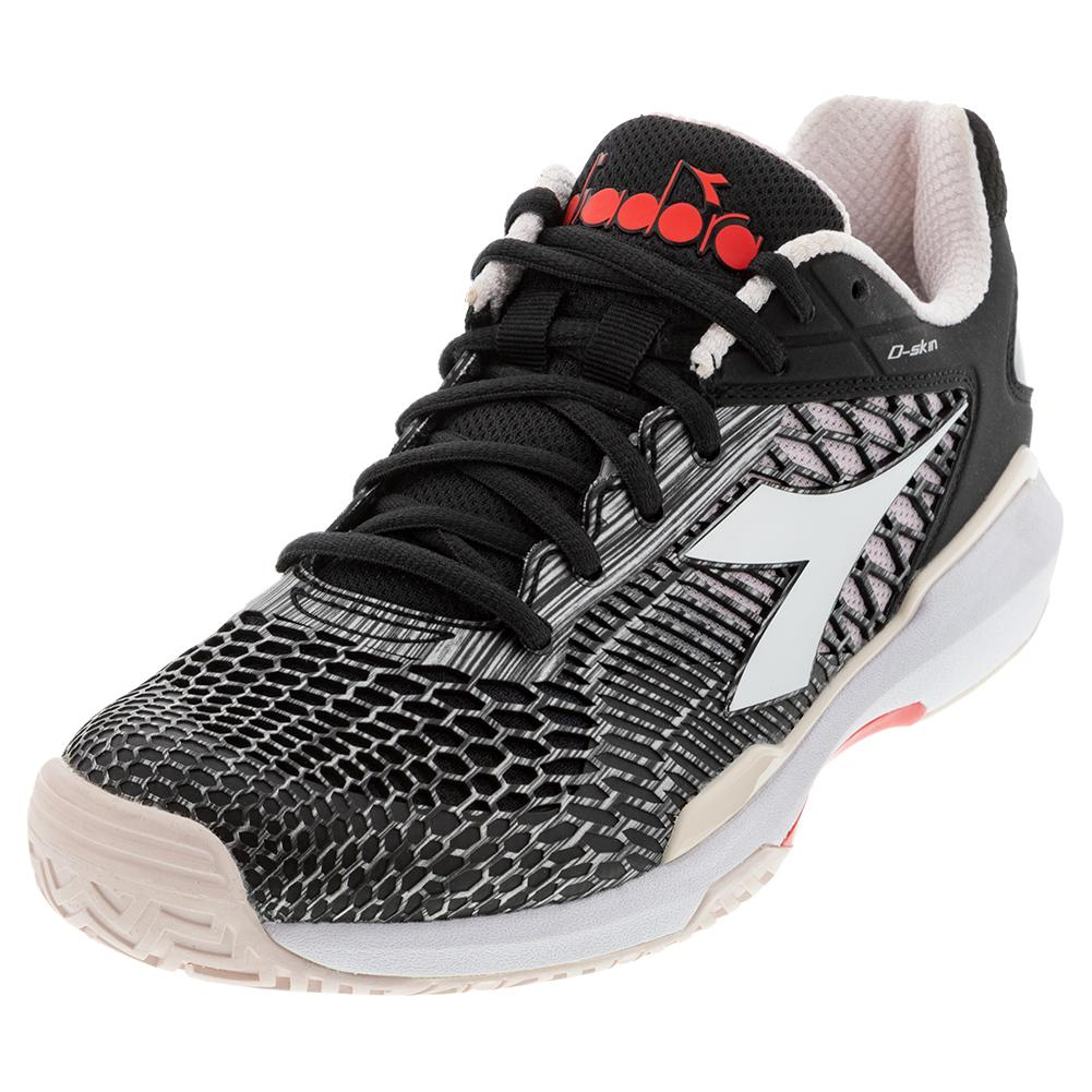Women's Speed Competition 5 Clay Tennis Shoes Black And Shrinking Violet