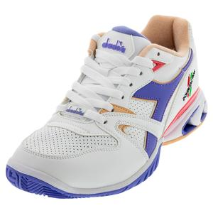 Women`s S Star K Duratech AG Tennis Shoes White and Violet