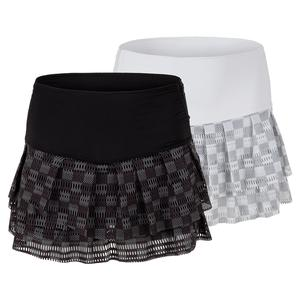 Women`s Hi-Check Tennis Skort