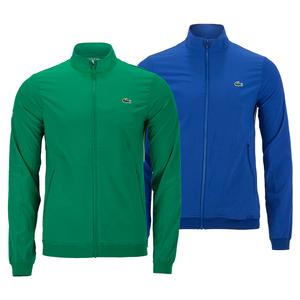 Men`s Novak Djokovic Textured Tennis Jacket