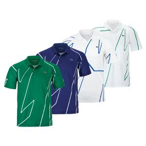 Men`s Novak Djokovic Ultra Dry Vertical Tennis Polo