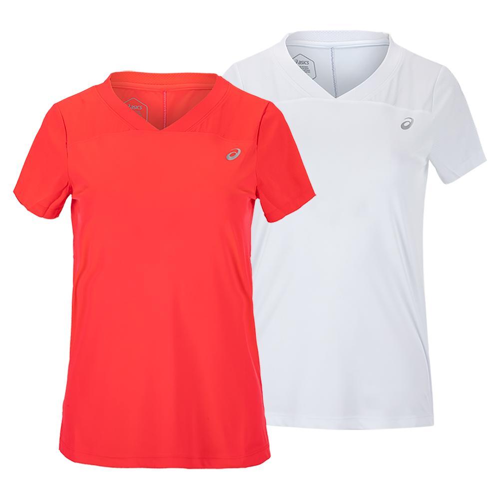 Women's Practice Short Sleeve Tennis Top