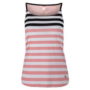 Women`s Blush Lady Tennis Skort Cami Stripe Print