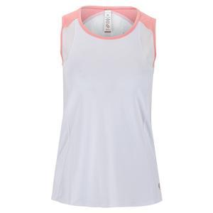 Women`s Blush Lady Tennis Tank White