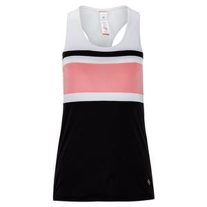 Women`s Blush Lady Racerback Tennis Tank Black