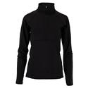 Women`s Essentials Tennis Half Zip 001_BLACK