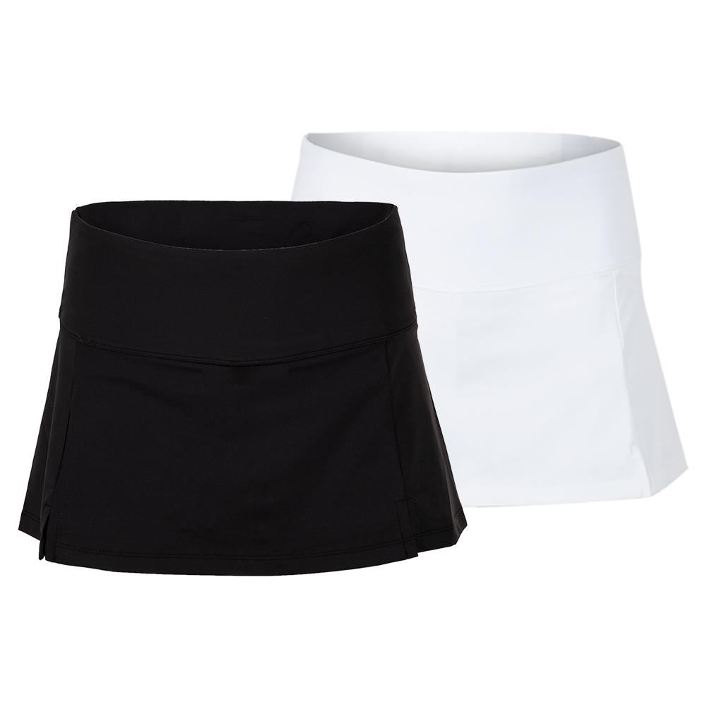 Women's Essentials Front Slit 12 Inch Tennis Skort