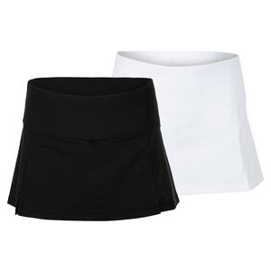 Women`s Essentials Front Slit 12 Inch Tennis Skort