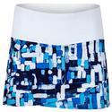 Women`s Essentials Tiered 13.5 Inch Tennis Skort 101_WHITE/CS_ST