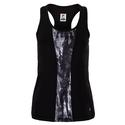 Women`s Essentials Racerback Tennis Tank 002_BLACK/MRBL