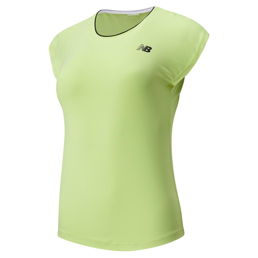 Women's Rally Cap Sleeve Tennis Top
