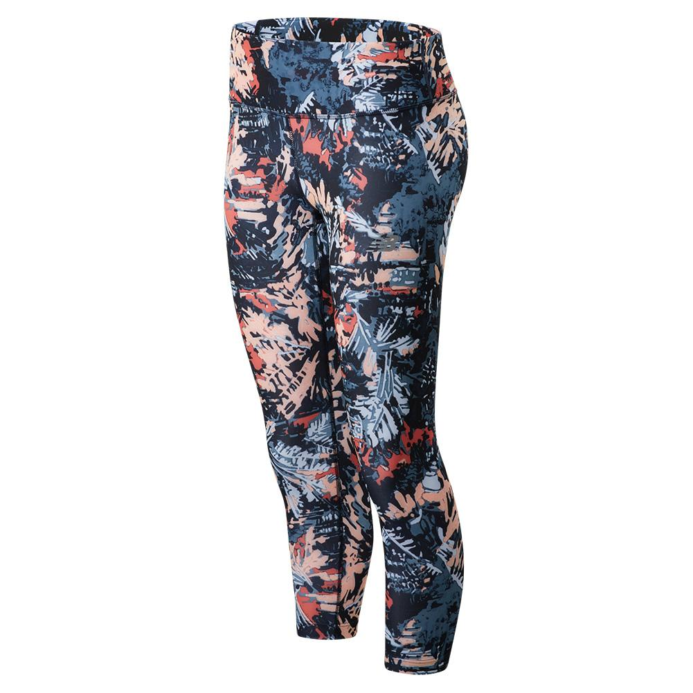 Women's Accelerate Performance Capri Print