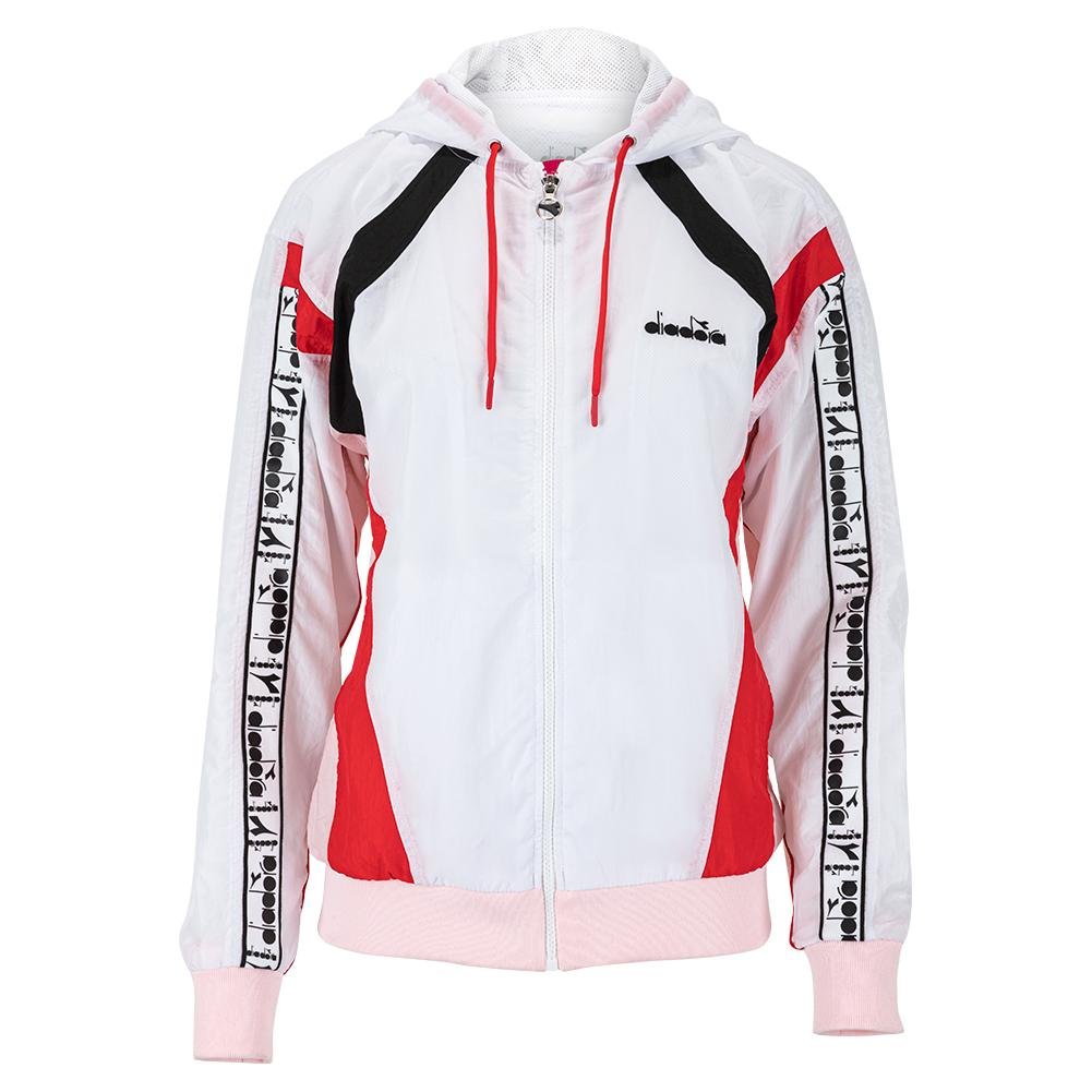 Women's L.Full Zip Hooded Tennis Jacket