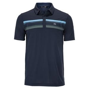 Men`s Par Tee Stripe Pique Polo