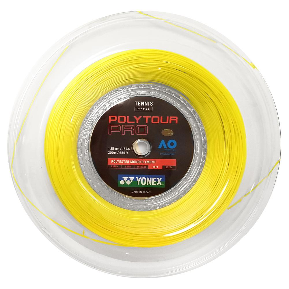 Poly Tour Pro Tennis String Reel Yellow