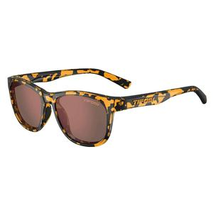 Swank Sunglasses Yellow Confetti with Brown Polarized Lenses