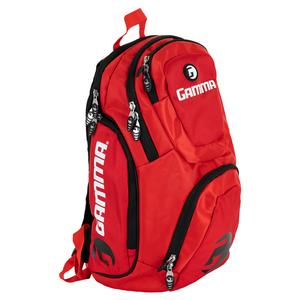Pickleball Backpack Red and White