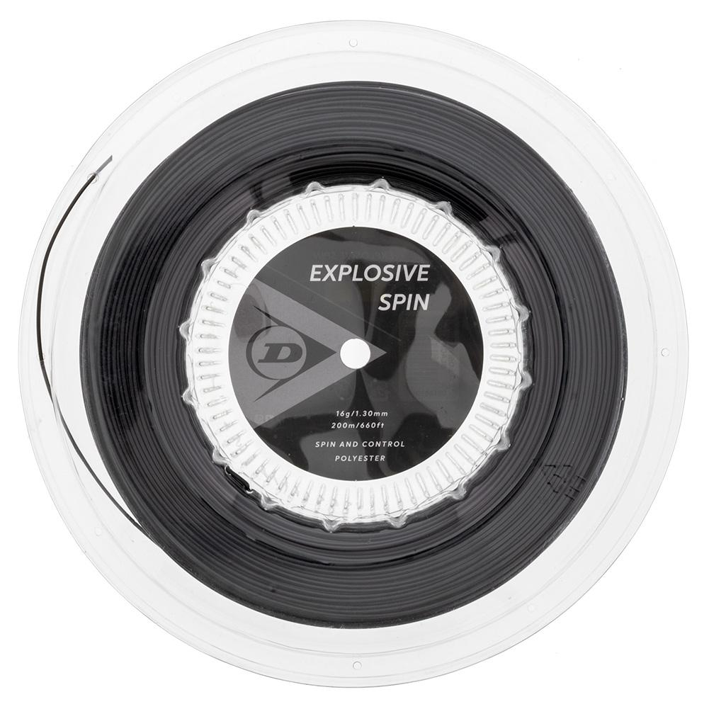 Explosive Spin Black 16g Tennis String Reel