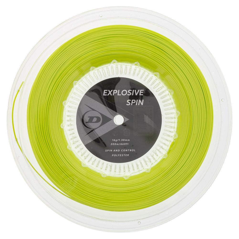 Explosive Spin Yellow 16g Tennis String Reel