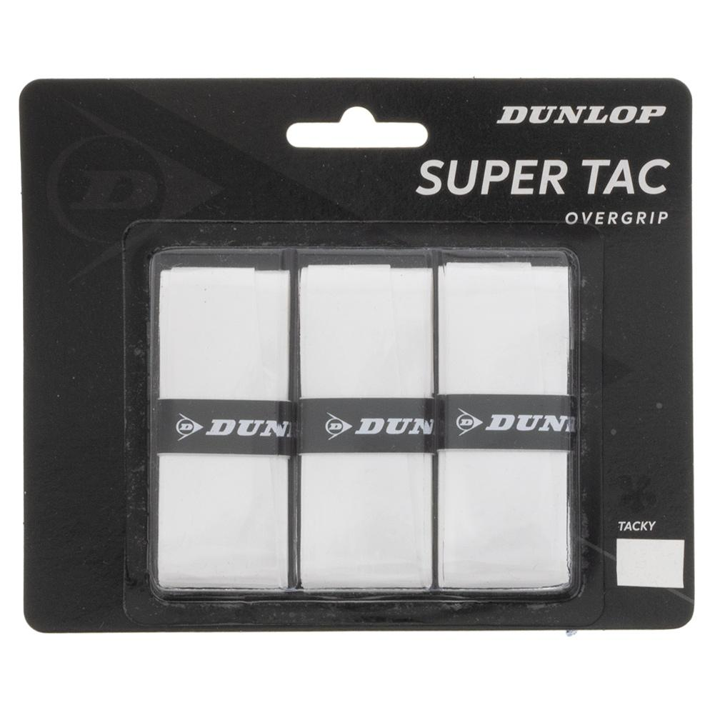 Super Tac Tennis Overgrip 3 Pack White