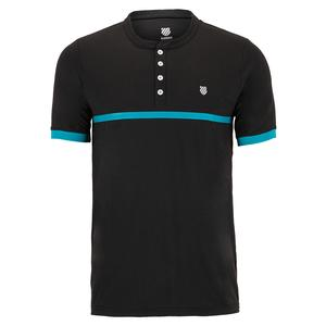 Men`s Hypercourt Henley Tennis Tee 2
