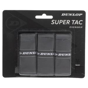 Super Tac Tennis Overgrip 3 Pack Black