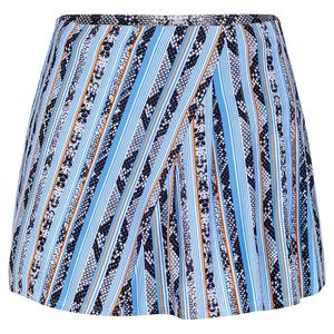 Women`s Sally 13.5 Inch Tennis Skort Reptilia Stripe